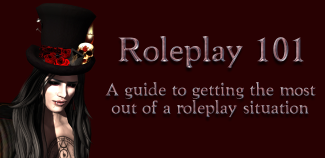 Roleplay 101: RP Log 2 – When you leave the scene with a smile on your face