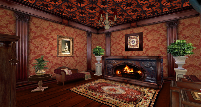 Chucking prims together: the Victorian skybox