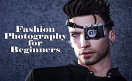 Second Life fashion photography for beginners