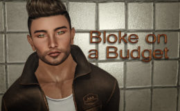 Bloke on a Budget: Catwa 'Freya' unisex Bento mesh head gift & Legacy L$1 male 'Classic' body