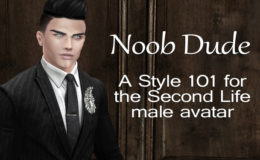 Noob Dude: A Style 101 for the Second Life Male Avatar – Part 2 – How to Get Dressed (Mesh Head & Mesh Body)