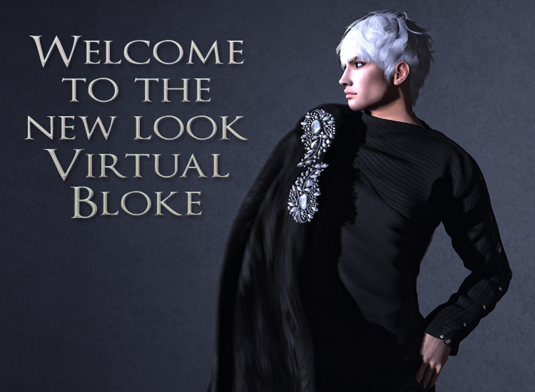 Admin: Welcome to the new look Virtual Bloke