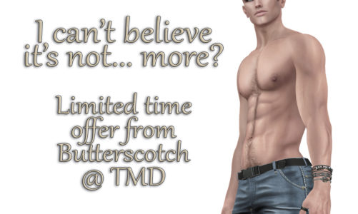 I can't believe it's not… more? A limited time offer from Butterscotch @ TMD